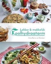 Lekker en makkelijk Koolhydraatarm kookboek
